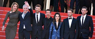 BPM (Beats per Minute) - Director Robin Campillo and his cast attend the 2017 Cannes Film Festival.
