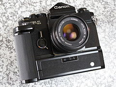 Canon F-1 with Power Winder F (4124346906).jpg