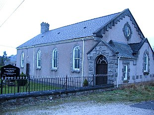 "Capel y Berthen, a <a href=""http://search.lycos.com/web/?_z=0&q=%22Presbyterian%20Church%20of%20Wales%22"">Welsh Presbyterian</a> chapel, in Lixwm"