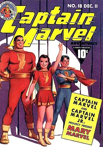Mary Marvel - Image: Captain Marvel 18