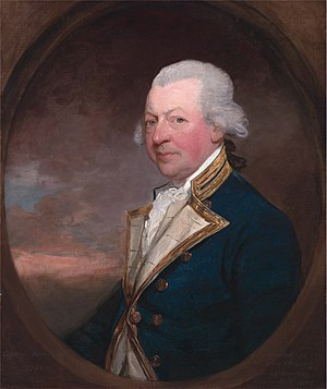 John MacBride (Royal Navy officer) - Captain John MacBride (Gilbert Stuart, 1788)