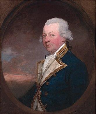 John MacBride (Royal Navy officer) - Captain John MacBride (Gilbert Stuart, 1788)