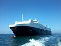 Car carrier GALICIA naviguant en mer de Casablanca.jpg