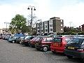 Car park east of St Peter's church, Wisbech - geograph.org.uk - 1826724.jpg