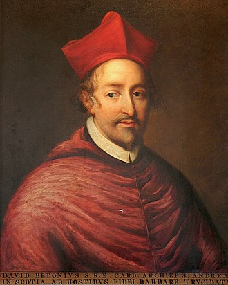 Scottish Reformation - Cardinal Beaton, defender of the old faith, and leader of the pro-French faction.