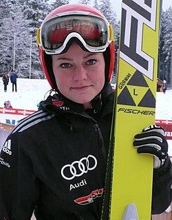 Carina Vogt German ski jumper