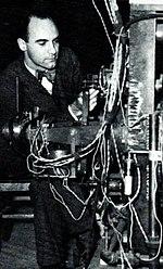 Carl Anderson la LBNL 1937