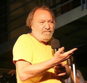 Carlo Monni - Monni during a show (2008)