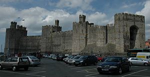 Carnarfon Castle parking.jpg