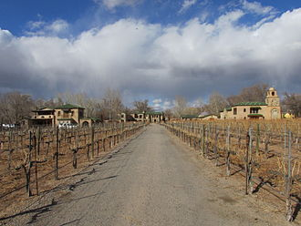 Middle Rio Grande Valley AVA - Casa Rondena Winery Los Ranchos de Albuquerque