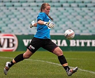 Casey Dumont - Dumont playing for Brisbane Roar in 2009
