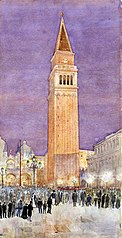 Bell Tower, St. Mark's Square, Venice