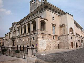 Acquaviva delle Fonti Comune in Apulia, Italy
