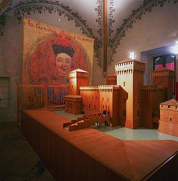 Este Castle of Ferrara, Gothic Room