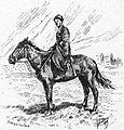Cavalier Koratchai. Grove, Florence Craufurd. Le Caucase. 1899. P.32.jpg