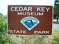 Cedar Key State Museum sign01.jpg