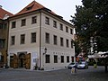 Celnice Ungelt (Staré Město), Praha 1, Týnská, Malá Štupartská, Týn 8, Staré Město - část souboru dům čp. 1049.JPG