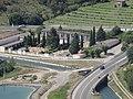 Cementiri d'Artesa de Segre i canal vist des del Sagrat Cor.JPG