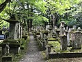 Cemetery in Yomeiji Temple.jpg