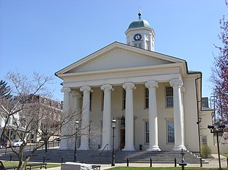 Centre County Courthouse - Centre County Courthouse, April 2009