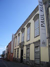 Fachada del Centro Atlántico de Arte Moderno
