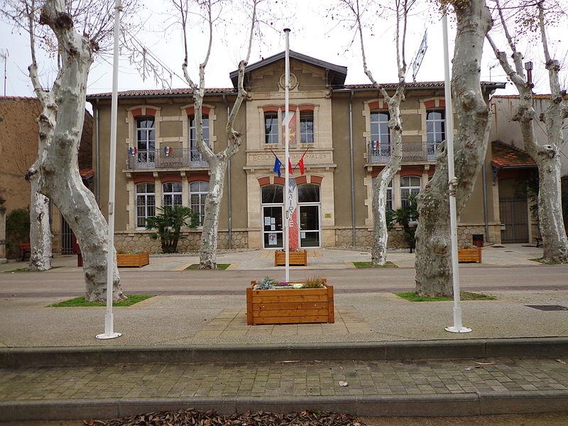 Cers (Hérault) - mairie.