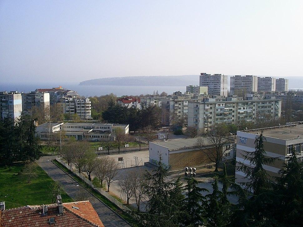 Chaika district in Varna