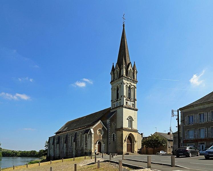 Chalonnes-sur-Loire (département Maine-et-Loire, France): Saint-Maurille church