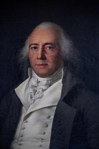 Étienne-François Letourneur - Portrait by Jean-Baptiste François Desoria in 1796.