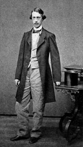 Charles Hale - Portrait of Charles Hale, ca.1861