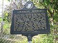 Charles Avenue historical marker 01.jpg
