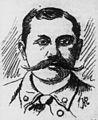 Charles Clark, Advertiser sketch, 1895.jpg