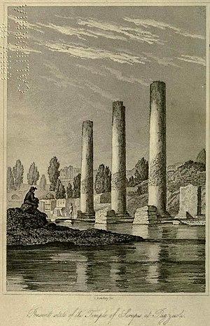 Macellum of Pozzuoli - Image: Charles Lyell Pillars of Pozzuoli