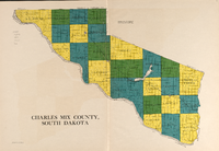 Charles Mix County townships (1931).png