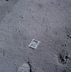 Charlie Duke's family portrait left on the surface of the moon.jpg