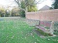 Charlie Perkins's bench in Southwick Recreation Ground - geograph.org.uk - 1056611.jpg