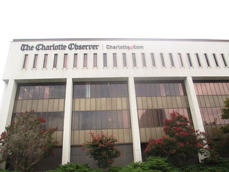 The Charlotte Observer - The Charlotte Observer headquarters (former)