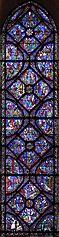 vitrail de saint Jacques le Majeur à Chartres