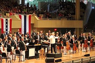 Chautauqua Symphony Orchestra - Stuart Chafetz conducts the Chautauqua Symphony Orchestra on the fourth of July