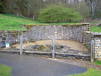 Chedworth Roman Villa - Nymphaeum