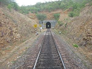 Guntur railway division - Chelama Tunnel, Guntur Division