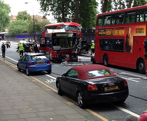 Chelsea Bridge Road bus crash