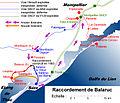 Chemins de fer de l'Hérault - Carte du raccordement de Balaruc.jpg