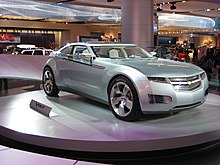 The Chevrolet Volt Concept Car Was Unveiled At January 2007 North American International Auto Show