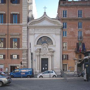 Santi Bartolomeo ed Alessandro dei Bergamaschi - Front view of the church