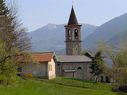 Village church of Pregola