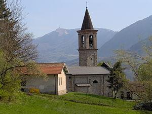 Brallo di Pregola - Village church of Pregola