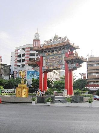 Samphanthawong District - Chinese Gate at Odeon Circle