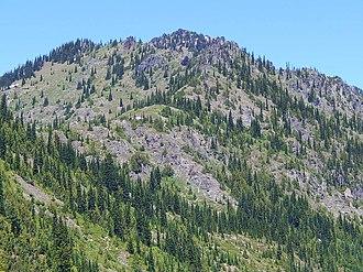 Chinook Peak - Chinook Peak seen from Chinook Pass