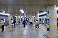 Chiyodaline kitasenjustation platform - june 2 2015.jpg